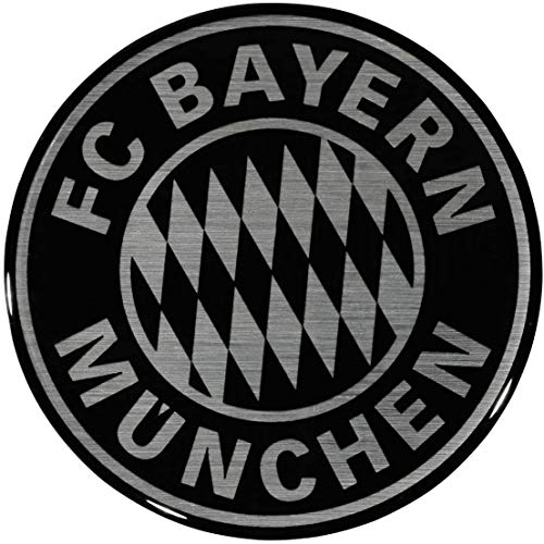 FC Bayern München Autoaufkleber / Sticker / Aufkleber 3D Logo FCB plus gratis Aufkleber forever München