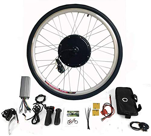 "MINUS ONE Elektrisches 28"" Fahrrad-Umbausatz E-Bike Conversion Kit Elektrofahrrad Kit Hinterrad Elektrofahrrad Motor Umbausatz (36V 800W)"