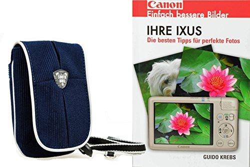 Cámara de Fotos Funda South Bull cordset con Libro IHRE Canon IXUS...