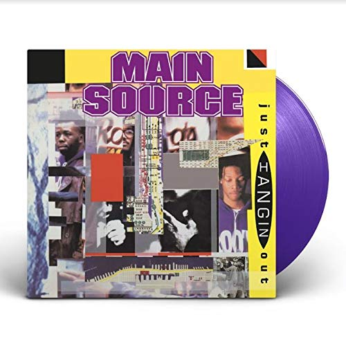 Just Hangin' Out Just Hangin' Out Live At Barbeque (7' Vinyl Purple Ltd)