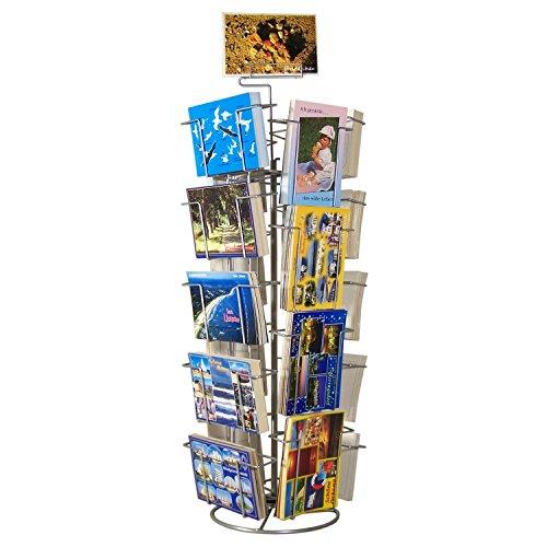 Theken-Kartenständer Postkartenständer für Glückwunschkarten 18 Motive drehbar