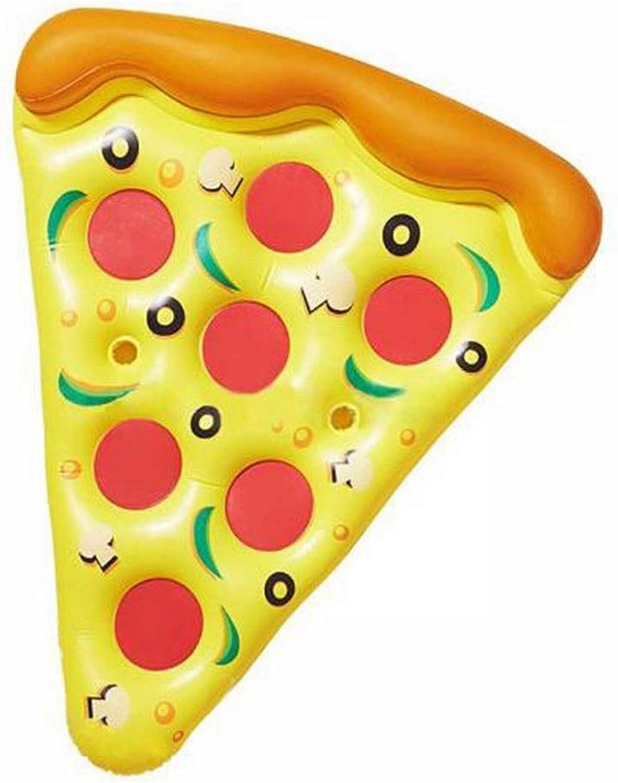 precio mas barato Klerokoh Pizza Inflable Fila Fila Fila Flotante Material De PVC Juguetes Acuáticos Cama Flotante Anillo De Natación Súper Grande Anillo Inflable para Cama  preferente