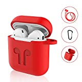 AirPods Case Premium Qualitt Schutzhlle fr Apple Airpods Zubehr mit Anti-Stress Hochelastisches...