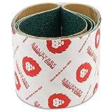 Red Label Abrasives 3 X 21 Inch 24 Grit Metal Grinding Zirconia Sanding Belts, 4 Pack