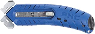 Pacific Handy Cutter Blue Plastic S8 Ambidextrous Safety Cutter - 5 3/4