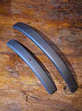 Ultralight matte carbon mudguards fenders for brompton R- Type folding bike