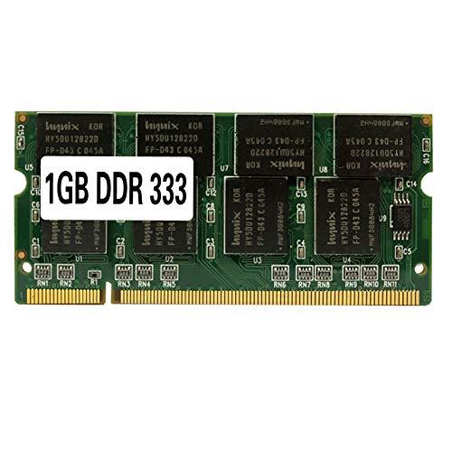 Laptop-Speicher RAM SO-DIMM PC2700 DDR 333 MHz 200PIN 1 GB / DDR1 DDR333 PC 2700 333MHz 200 PIN Für Notebook