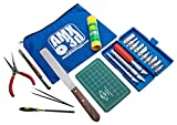 AMX3d 25 Piece 3D Printer Tool Kit - All The 3D Printing Tools Needed to Clean & Finish 3D Prints - Print Like a Pro -AMX3d-25 Piece Tool Kit