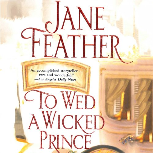To Wed a Wicked Prince audiobook cover art