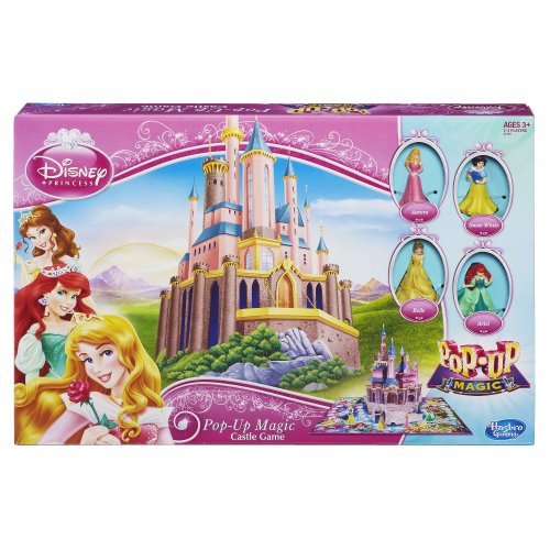 Hasbro Disney Principessa- Pop-Up Magico Castello Gioco 6 Personaggi Inclusi