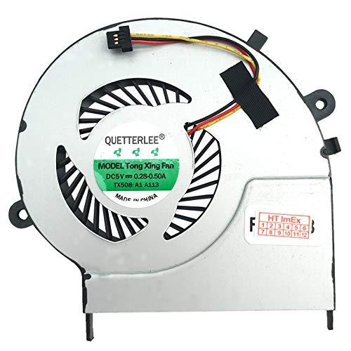 Lüfter Kühler Fan für Toshiba L50D-B-11N, L50D-B-14J, L50D-B-171, L50-B-15U, L50-B-1JT, L50-B-1VU, L50-B-2CL, L50D-B-13C, L50D-B-160, L50D-B-1C1, L50D-B-12K