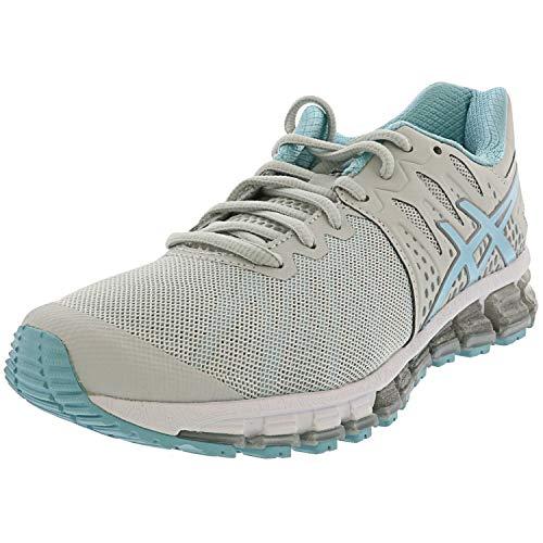 ASICS Women's Gel-Quantum 180 TR Training Shoes, 11M, Glacier Grey/Porcelain Blue/WH