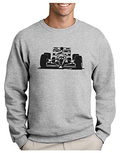 Green Turtle T-Shirts F1 pour Fan de Courses Automobiles Sweatshirt Homme Small Gris Chiné
