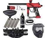 Action Village Kingman Spyder Fenix Epic Paintball Gun Package Kit (Gloss Red)