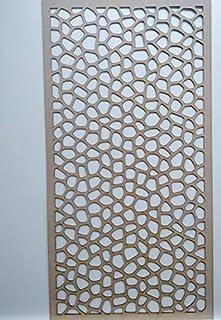 LaserKris - Mueble de Pared para radiador (Tablero DM Perforado (4X2) O1