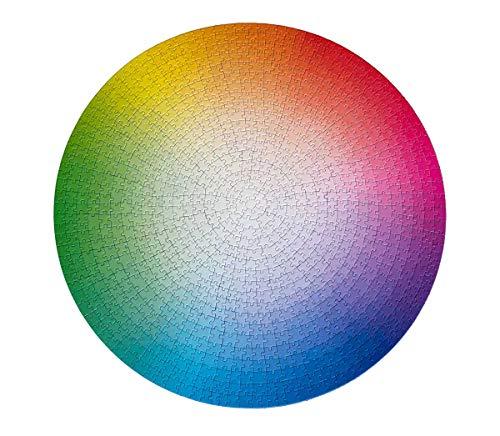 commercial Round Color Wheel Puzzle 1000 CMYK Gradient, by Clemens Habicht colour gradient puzzle
