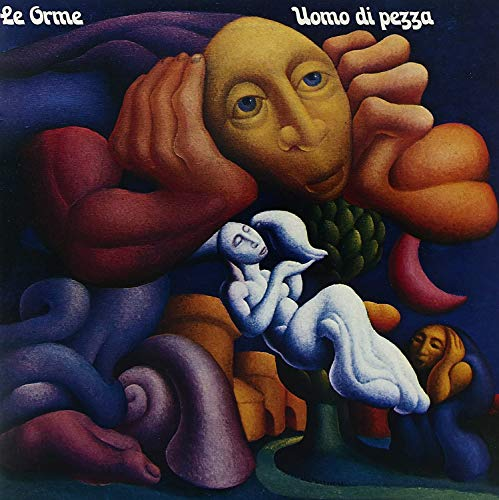 Uomo Di Pezza (180 Gr. Vinyl Clear Blue Gatefold Limited Edt.)