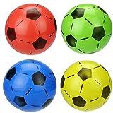 NUOLUX 6 Stück Mini Fußball Softball Sport Bälle Spielzeug