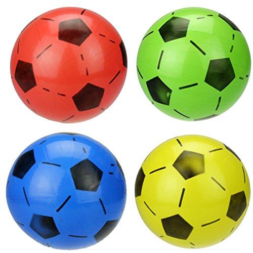 TOYMYTOY Mini gioco di calcio di calcio di Softball gioca lo sforzo di pressione di sforzo 6pcs giocattolo (colore casuale)