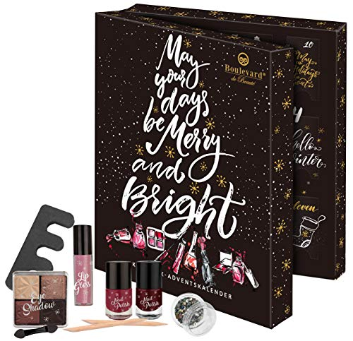 Boulevard de Beauté Beauty In A Book Advent Calendar - Makeup-Kalender im stylischen Buchformat, 24...