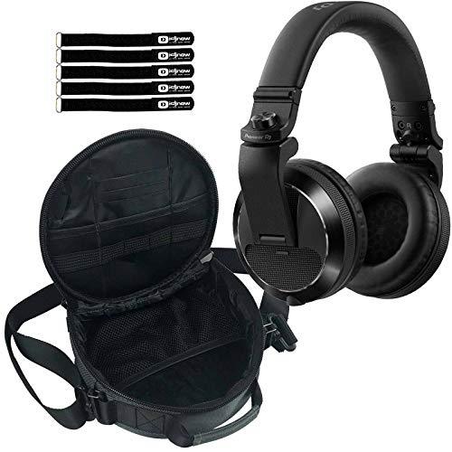Best Review Of Pioneer DJ HDJ-X7 Professional Over-Ear DJ Headphones Black w Carrying Case
