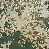Camouflage Stoff aus Nylon | Farbecht Reißfest