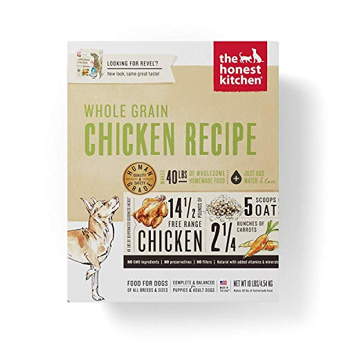 Honest Kitchen Human Grade Dehydrated Organic...
