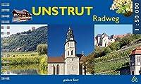 Unstrut-Radwanderweg: Von Kefferhausen nach Naumburg. Massstab 1:50.000.