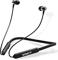 EDICT by Boat DynaBeats EWE02 Wireless Bluetooth in Ear Neckband Headphone with Mic (Black)
