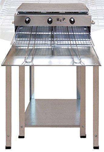 BeP Barbecue A Gas Gpl Vulcano Made In Italy Prodotto Artigianale Inox