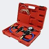 WilTec Système de Refroidissement Universel Purge Liquide Remplissage Testeur Kit Outil Refroidisseur