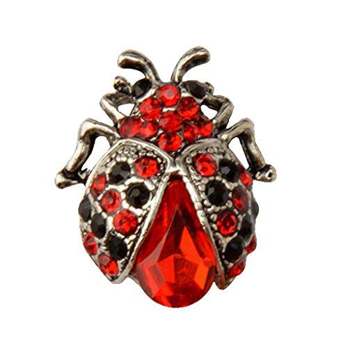 yotijar Ladybird Vintage Broche de Aleación de Zinc Broche Accesorios de Mujer