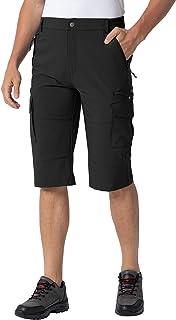 Gopune Men's Outdoor Cargo Shorts Lightweight Water Resistant Workout Hiking Shorts