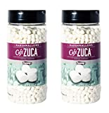 Twang Café Zuca Dehydrated Mini Marshmallows, Coffee Topping, 2.6oz - 2 pack
