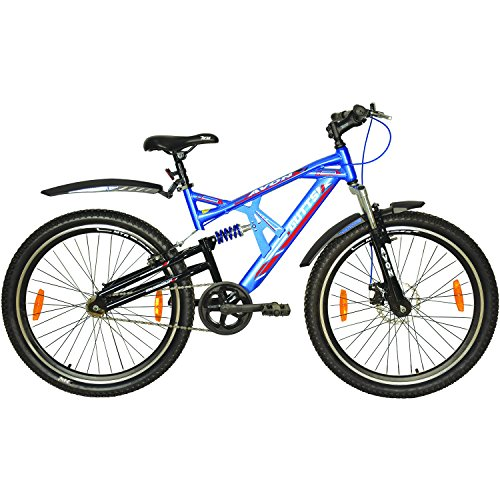 Avon Boy's Steel 26 Inches Wheel 19 Inches Frame Celestine Cycles (Blue/Black)
