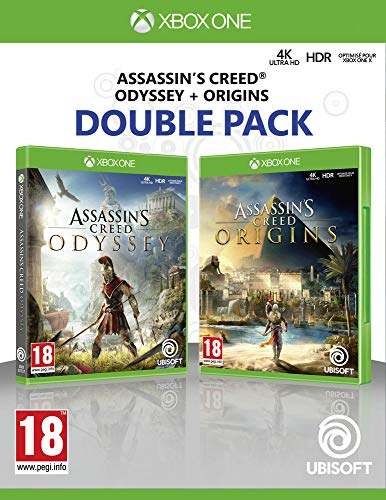 Compilation Assassin's Creed Origins + Assassin's Creed Odyssey [Edizione: Francia]