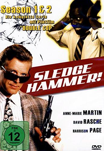 Sledge Hammer - Season 1+2 Box [4 DVDs]