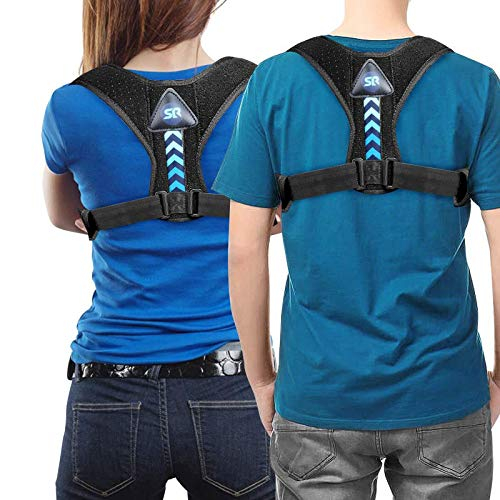 Posture Corrector for Women and Men- Perfect Adjustable Upper Back Brace for Clavicle Support and Providing Pain Relief from Neck Shoulder Upright Straightener Comfortable
