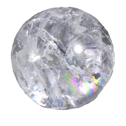 Purpledip Resin Crystal Ball for Indoor Tabletop Water Fountains (10503)