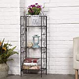 Amagabeli Versatile 3 Tier Standing Wire Shelf Shelving Unit Bakers Rack Metal Rustproof O...