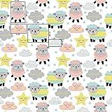 Pingianer 11,99€/m Schaf 100% Baumwolle Baumwollstoff