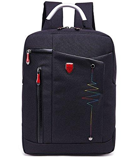 beibao shop Backpack Sacs à Dos pour Ordinateur Portable 15 Pouces Commerce Casual Épaules Grande capacité Extérieur Voyager Multi-Fonctionnel Sac à Dos d'ordinateur, Black