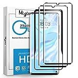 Migimi Vetro Temperato per Huawei P30 PRO, [2 Pezzi] P30 PRO Pellicola Prottetiva, [ltra Resistente] [Durezza 9H] [Senza Bolle] [Installazione Facile] Protezione Schermo per Huawei P30 PRO