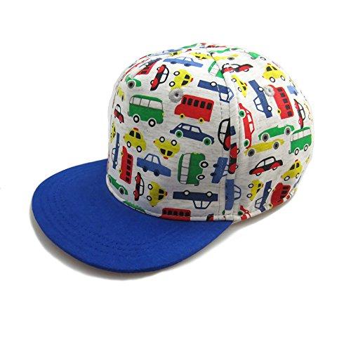 Gifts Treat Snapback Cap Hut Baby Boy Baseball Cap Kinder Sommer Sonne Hüte in bunten Auto Muster