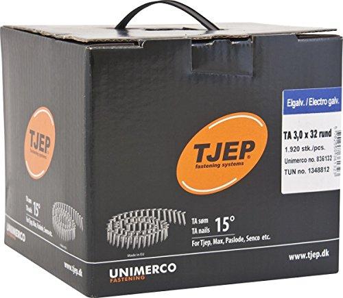 TJEP TA 30/32 Rillennägel, Dachpappennägel Verzinkt