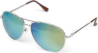 styleBREAKER Pilotes Lunettes de soleil à verres teintés ou réfléchissants avec charnière à ressort, unisexe 09020037