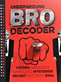 Underground Bro Decoder w/ Secret Decoder Ring