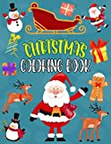 Christmas Coloring Book: Big Christmas Book For Kids Ages 4-12, Funny 64 Coloring Pages Printed On Single Sided - Very Merry Christmas Coloring Book For Kids Ages 4-12