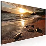 murando Cuadro en Lienzo Mar y Playa 120x40 cm 1 Parte Impresión en Material Tejido no Tejido Impresión Artística Imagen Gráfica Decoracion de Pared Paisaje c-B-0551-b-a