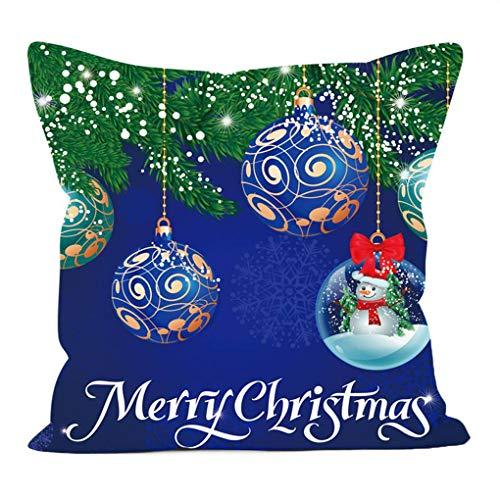 Chowcencen Natale del Fumetto Cuscino Decorativo Digital Printing dell'ammortizzatore del Cuscino Caso Cassa dell'ammortizzatore Caso Shell